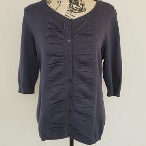 United States Sweaters graphite button down sz XL